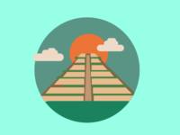 Ta Keo Temple - Icon Illustration