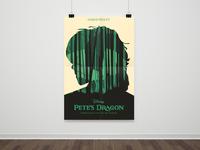 Disney Pete's Dragon - Poster Illustration
