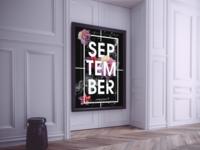 September - Calendar Design