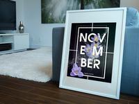 November - Calendar Design
