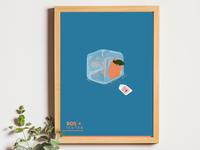 BOS ICE TEA - Poster Illustration