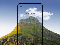 Mobile UI Design - Lion's Head, Cape Town