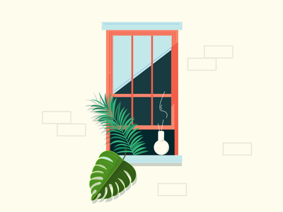 Editorial Illustration - City Windows