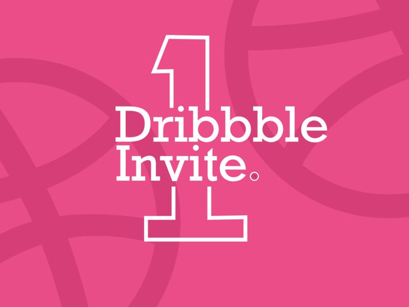 Dribbble Invite vector invite giveaway dribbble invite invite illustration ui design dribbble