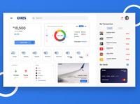 Banking Web Application - Dashboard UI
