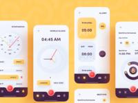 iOS Alarm Clock App