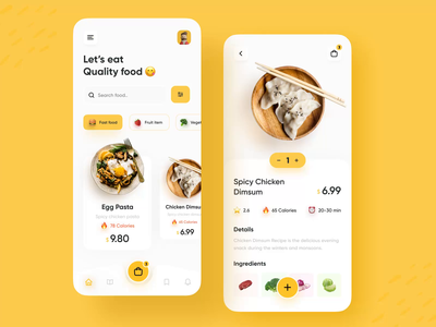 Micro-interaction: FOOD DELIVERY APP clean simple minimal dribbble best shot popular shot tracking delivery service delivery app interaction animation interaction design interactions micro interaction foodie food design food app food delivery food delivery application food delivery service food food delivery app
