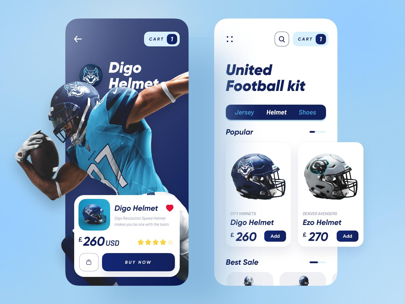United Football Kit App