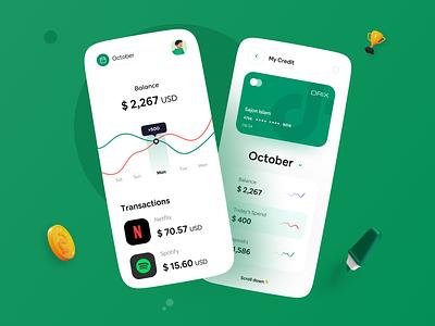 Wallet App uxui uiux design ux ui mobile design wallet bank banking app mobile app design mobile ui mobile app mobile application app design app