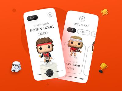 Toy Shop App ux uiux ui interface app mobileappdesign mobileapp mobile ui mobile apps ux ui design mobile minimal ui design mobile app