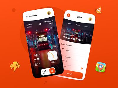 Train Ticket App train ticket app ticketing ui interface app mobileappdesign mobileapp minimal mobile apps mobile ui ux ui design mobile mobile app uiux ux