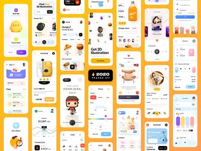 2020 App Design 🔥 trend trending 2020 trends 2020 design 2020 trend 2020 mobile app ui design minimal mobile ux ui design mobile apps mobile ui mobileapp mobileappdesign app interface uiux ux ui