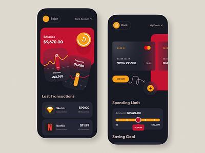 Banking Wallet App banking banking app bankingapp mobile app design uiux uxui ux app mobileappdesign mobileapp mobile u mobile apps ux ui design mobile minimal ui design mobile app
