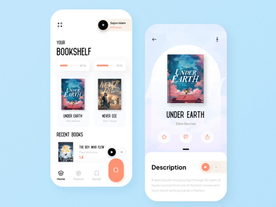 eBook App online ebook app ebooks ebook mobile app ui design minimal mobile ux ui design mobile apps mobile ui mobileapp mobileappdesign app interface uiux