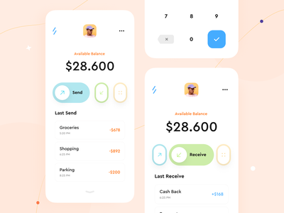 Banking Mobile App interface application mobileappdesign mobileapp mobile ui app design mobile apps mobile application mobile app design mobile app app wallet app banking app bankingapp bank app banking bank