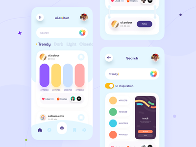 Colour App orix sajon colour color app mobile app mobile app design mobile application app design mobile apps interface design mobile ui mobileapp trending design mobileappdesign application interface