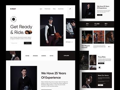 Horsey Web Landing Page