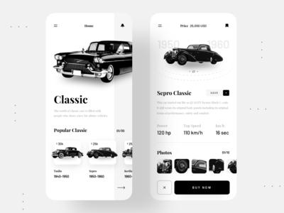 Classic Cars App