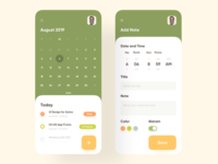 Daily Task Schedule App