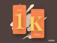 1k Followers 😊