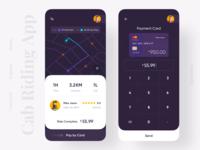 Cab Riding App