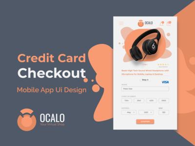 Credit Card Checkout | E-Commerce Mobile App Ui Design