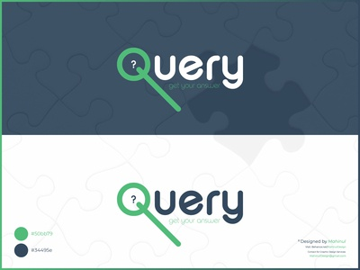 Query - Question Answer Service Logo Design
