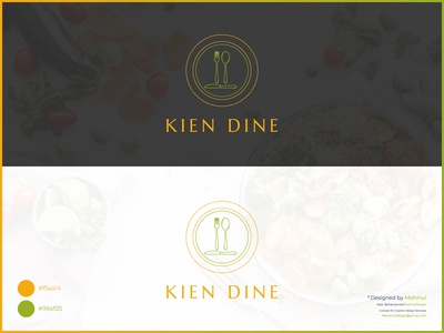 Kien Dine - Restaurant Logo Design