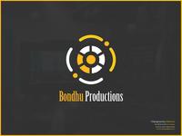Bondhu Productions - Video Production Company Logo Design