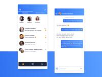 Social app messages