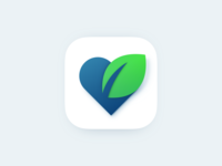 Ecological health app icon