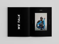 FAME MAGAZINE - Layout Interview
