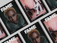 FAME MAGAZINE - covers