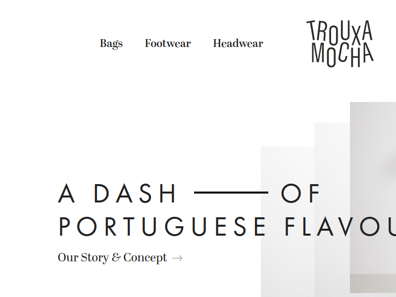 Trouxa portuguese apparel website futura