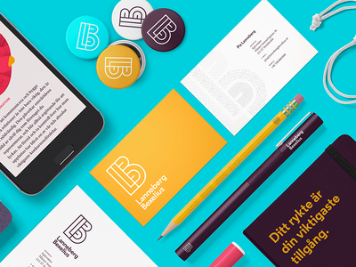 Lanneberg Bexelius Brand interface web ui brand sweden