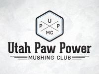 Utah Paw Power Logo Concept