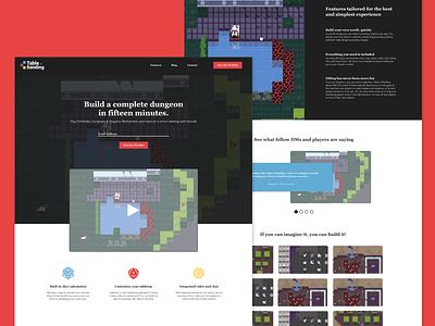 Table Of Sending - Website Mockup and Branding website branding layout screengrab ui ux design