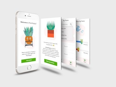PlantHappy Mobile Design