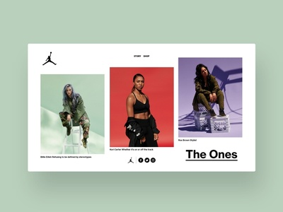 Jordan - The Ones design