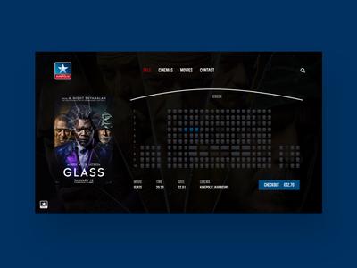 Design - Cinema tickets - Choose your seats