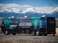 Listen To America   |   A HuffPost Bus Tour