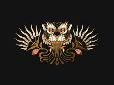✨GOLD FEVER ✨ animal illustrations gold goldfever duoline drawing adobe photoshop procreate illustrations art icon design icon tattoo art monoline illustrator linework illustration