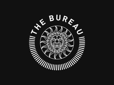 The Bureau monoline logo brand identity identitydesign branding graphic design illustrator animation logo animation design linework illustration lion logo monoline logo badge logomark logo logo deisgn