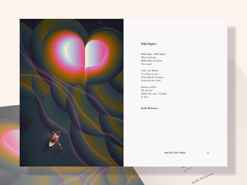 Wild Nights - love poems illustrated
