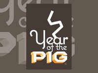 Year of the Earth Pig - posters