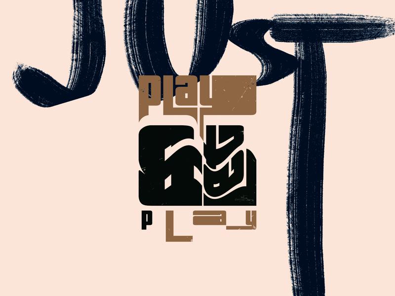 PNLP poster wflemming typography branding logo design adobe illustrator geometric vector digital illustration