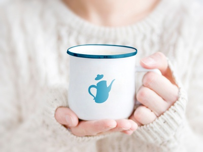 Logo | Ấm Cafe cafe coffee branding illustration concept design logo