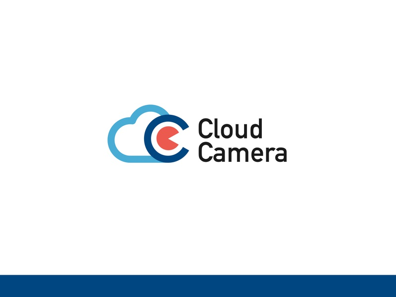 Logo | Cloud Camera branding illustration camera cloud logo concept design