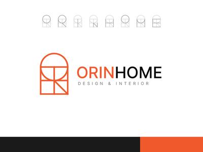 Logo | Orinhome branding illustration logo concept design