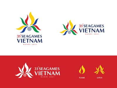 Logo | SEAGAMES 31 contest idea hanoi vietnam 31 seagames designer branding illustration logo concept design
